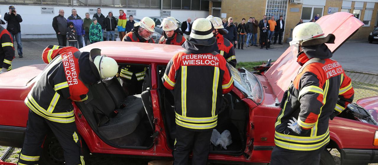Wiesloch. Autohaus Wagner Feuerwehr Aktionstag 2015. 02.04.2015 - Helmut Pfeifer.