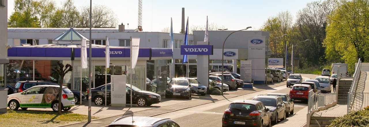 Der Betrieb von Auto Wagner in der Güterstraße in Wiesloch.