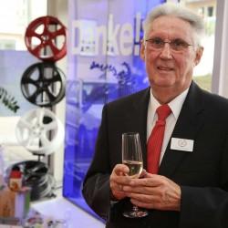 Seniorchef Manfred Wagner beim Empfang am 19. Oktober 2015 anlässlich seines 80. Geburtstages